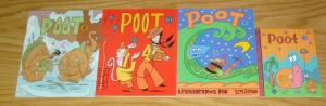 Poot #1-4 VF/NM complete series - fantagraphics - walt holcombe set lot 2 3