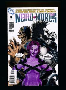 DC Weird Worlds #3, Garbage Man, Lobo, Tanga! DC Comics 2011 ~ NM (HX546)