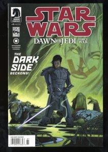 Star Wars: Dawn of the Jedi - Force War #1 NM 9.4 Newsstand Variant