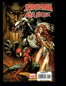 Lot Of 11 Comics Spider-Man/Red Sonja 1 2 3 4 5 Kull # 1 2 3 4 5 6 Fantasy SM2