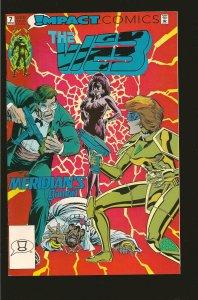 Impact Comics The Web #7 April (1992)