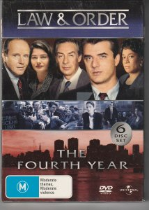 Law and Order Season 4 (Region 2, UK Import)