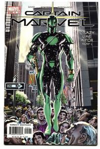 Captain Marvel #15-Cool cover-2003 Marvel NM-