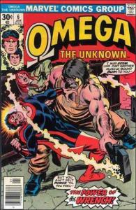 Marvel OMEGA: THE UNKNOWN (1976 Series) #6 VF