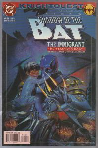 SHADOW OF THE BAT #24 - BAGGED AND BOARDED - BATMAN - 1994