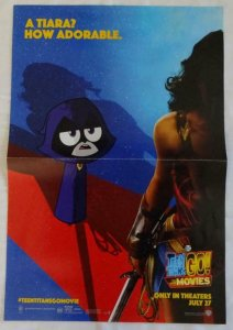 TEEN TITANS  Promo Poster , 11 x 17,  2018, DC, WONDERWOMAN  Unused 081