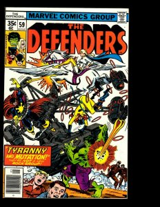 12 Defenders Marvel Comics #59 60 61 62 63 64 65 66 67 68 69 70 Hulk Thor GK15