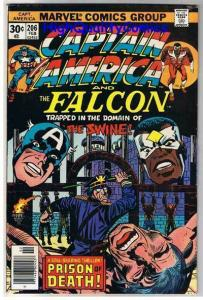 CAPTAIN AMERICA #206, FN+, Jack Kirby, Falcon, 1968, more CA in store