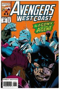 Avengers West Coast #98 (Marvel, 1993) VF