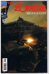 The LAST ZOMBIE #5, NM, 2010, undead, more Horror in store