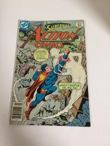Action Comics 471 Fn/Vf Fine/Very Fine 7.0 First Appearance Of Faora