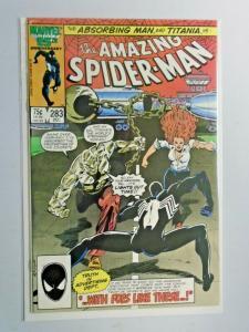 Amazing Spider-Man #283 Direct 1st Series 8.0 VF (1986)