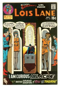 Superman's Girlfriend Lois Lane 106   I am curious (Black) story