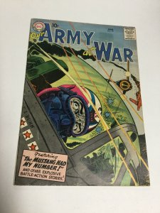 Our Army At War 59 Vg/Fn Very Good/Fine 5.0 DC Comics Silver Age