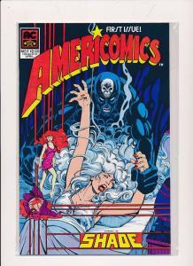 AMERICOMICS #1, SHADE First Issue 1983 ~ VF+ (HX308)