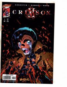 Lot Of 11 Crimson Image Comic Books # 1 (2) 2 (2) 3 4 5 6 7 (3)  Wildstorm J260