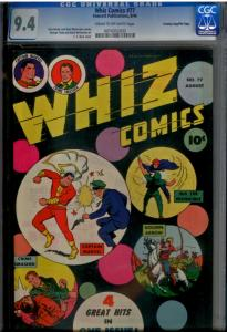 Whiz Comics #77 CGC 9.4 Captain Marvel Shazam (1 of TOP 2 ever graded by CGC!)