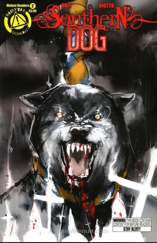 Southern Dog #2 VF/NM; Danger Zone | save on shipping - details inside