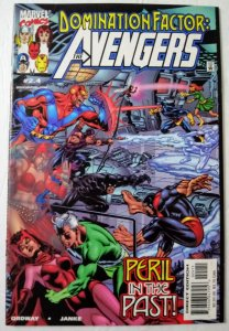 Domination Factor: Avengers #2.4 (NM)  1999 Marvel Comics ID#SBX5