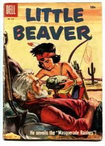 Four Color Comics #870 comic book 1956 Dell-Little Beaver-Fred Harmon style art