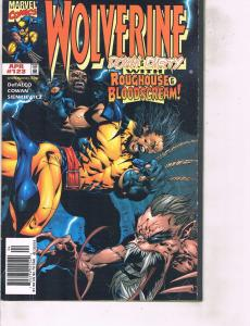 Lot Of 2 Wolverine Marvel Comic #123 125  Iron Man Thor ON14
