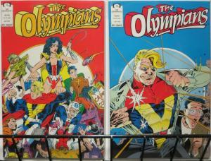 OLYMPIANS (1991 EPIC) 1-2 (3.95 CVR)THE SET!
