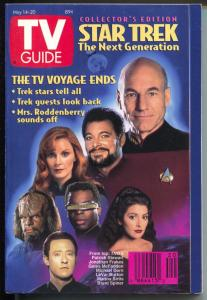 TV Guide 5/14/1994-Star Trek The Next Generation-Collector's Edition-VF