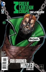 DC GREEN LANTERN CORPS: EDGE OF OBLIVION #4 FN+