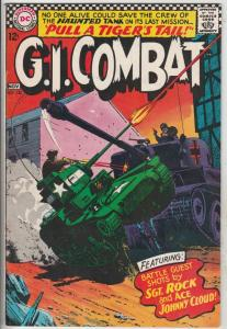 G.I. Combat #120 (Nov-66) FN/VF- Mid-High-Grade The Haunted Tank