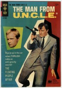 MAN FROM UNCLE (1965-1969 GOLD KEY) 8 VG+ PHOTOCOVER: R COMICS BOOK