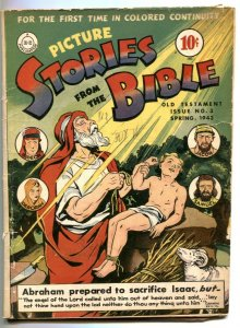 Picture Stories From The Bible #3 1943- Old Testament VG