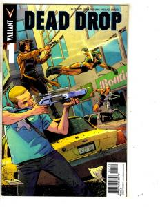 Lot Of 6 Dead Drop Valiant Comic Books # 1 1 (2) 1 3 4 Ales Kot Adam Gorham MK9