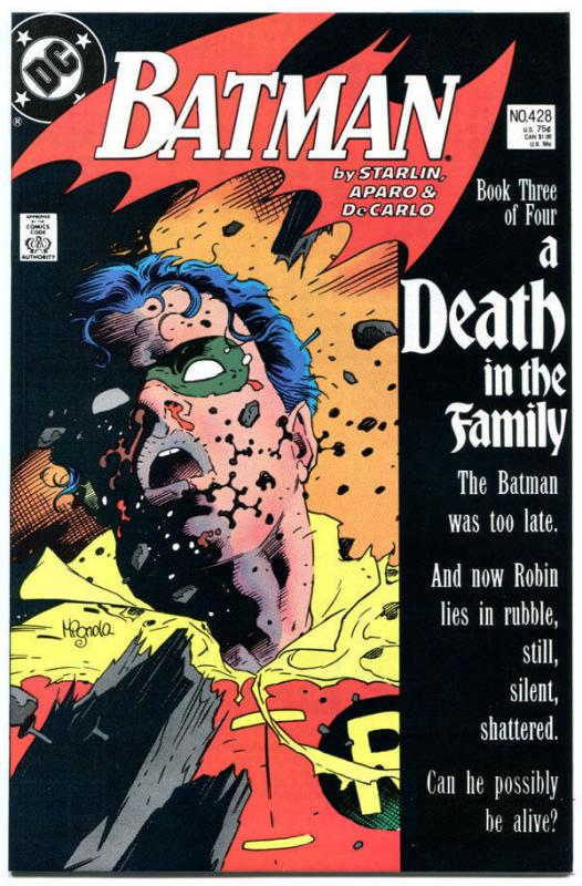 BATMAN #428, VF, Robin dies, Death in the Family, Mike Mignola,more BM in store