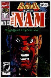 NAM #52, VF/NM, Vietnam, War, Hueys, Punisher, Palmiotti