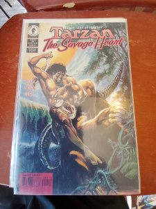 Tarzan The Savage Heart #4 (1999)