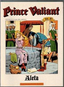 Prince Valiant #10 1990-Fantagraphics-color reprint-Hal Foster-Aleta-VF