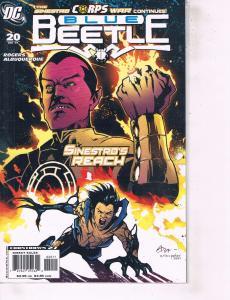 Lot Of 2 DC Comics Book Blue Beetle #20 and JLA #82 Batman  ON1