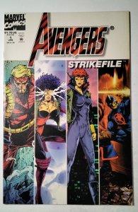 Avengers Strikefile #1 (1994) Marvel Comic Book J757