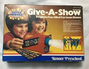 Kenner Give-A-Show Projector Super Powers collection, No. 99350, works