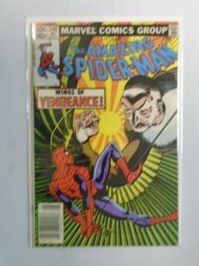 Amazing Spider-Man #240 Newsstand 1st Series 5.0 (1983)