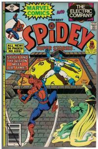 SPIDEY SUPER STORIES 44 VG-F Jan. 1980