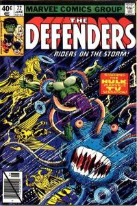 Defenders (1972 series) #72, VF+ (Stock photo)
