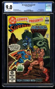 DC Comics Presents #47 CGC VF/NM 9.0 White Pages 1st He-Man!  1st Skeletor!