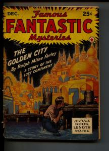 Famous Fantastic Mysteries-Pulp-12/1942-Ralph Milne Farley