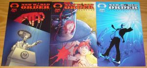 New World Order #1-3 VF/NM complete series inspired by jordan maxwell - set lot