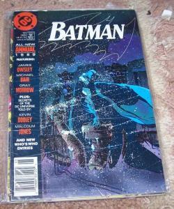 BATMAN ANNUAL  #13  1989 DC COMICS  TWO-FACE  GARBARA GORDON ALFRED GOTHAM