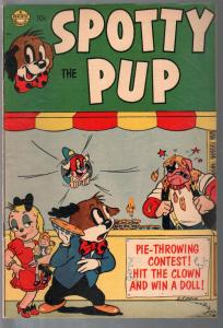 Spotty Pup 1953-Realistic-comics-games-puzzles-1st of Avon series-FN
