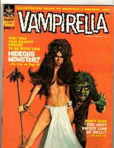 Vampirella #10 FN/VF Warren Comic Book Magazine Vampi Vampire Monster Horror JK4