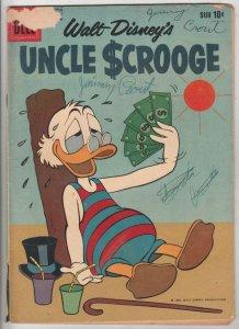 Uncle Scrooge, Walt Disney #30 (Jun-60) FN- Mid-Grade Uncle Scrooge