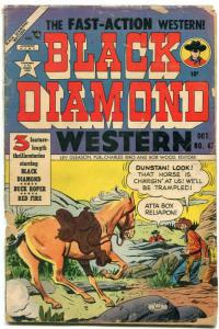 Black Diamond Western #47 1953- Buck Roper- Golden Age P/FR
